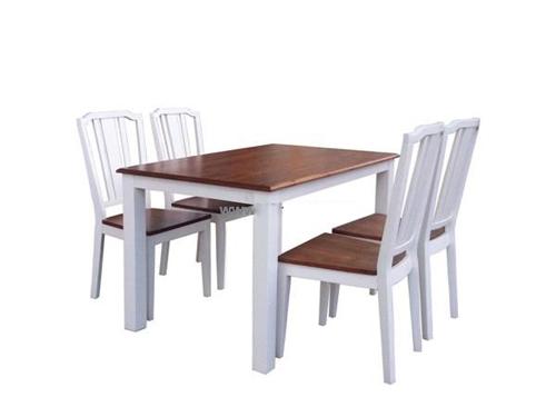 Bộ bàn ăn Calgary Dining dài 1m 4 Ghế
