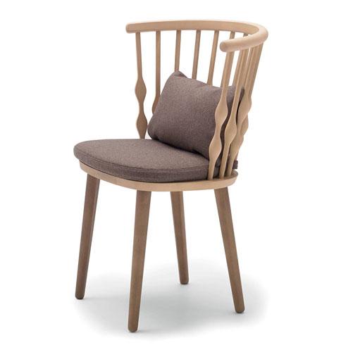 Ghế gỗ nub cổ điển