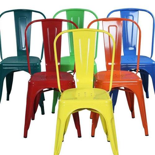 Ghế nhựa có dựa lưng