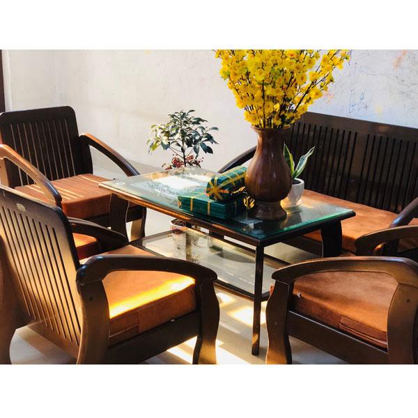 bộ đệm cho ghế gỗ cổ điển
