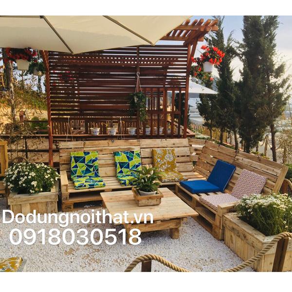 may bộ đệm cho ghế gỗ resort
