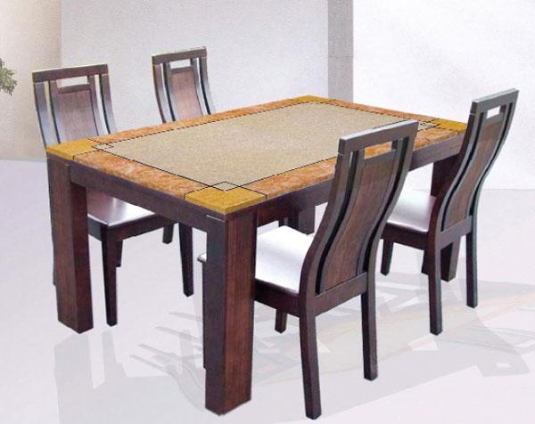 Bộ bàn ăn MONACO đẹp