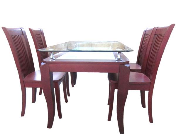 Bộ bàn ăn SIENNA 1m4