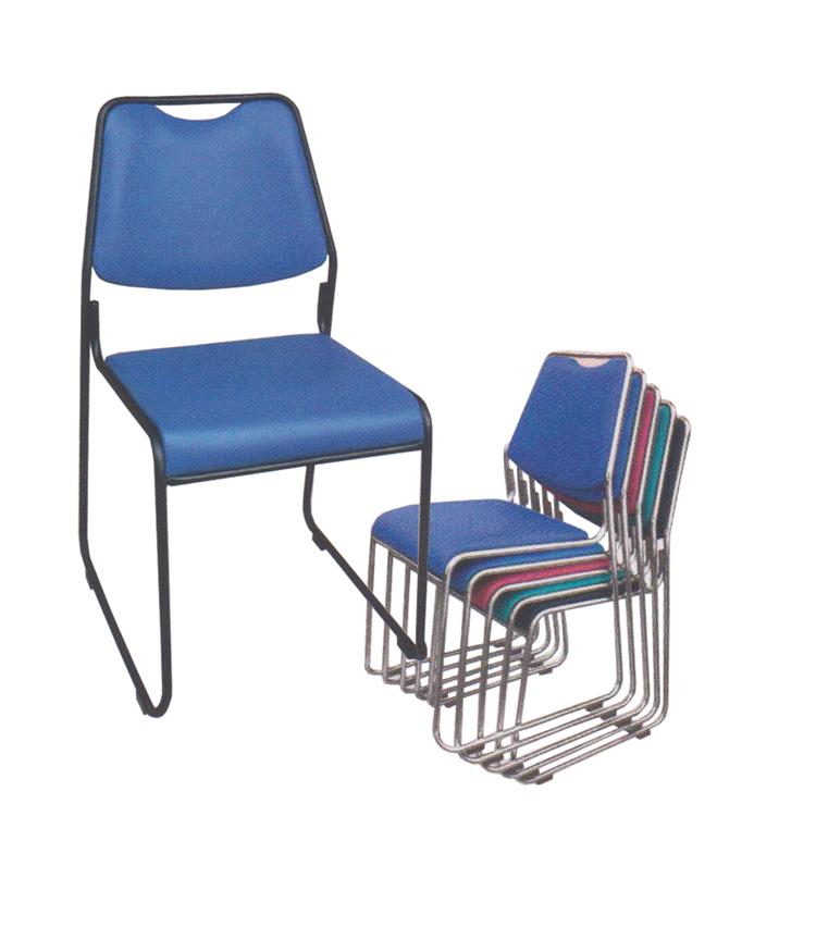 ghế văn phòng chân quỳ simili khung inox rẻ đẹp