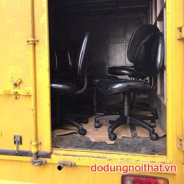 giao hàng ghế xoay văn phòng cao cấp ở hcm