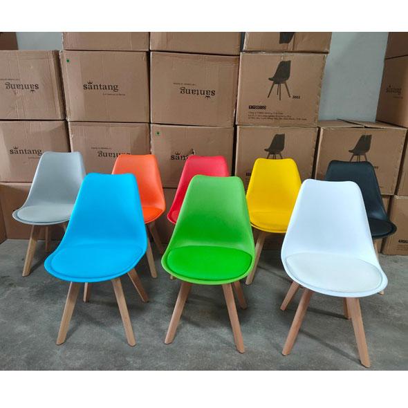 Bàn ghế cafe nhiều màu