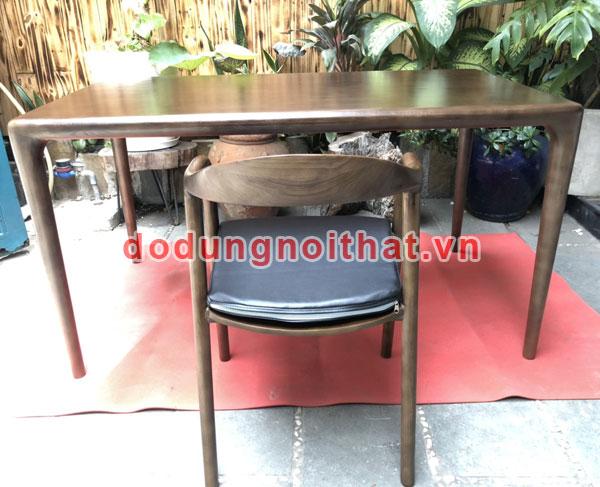 bộ bàn ăn ghế ngồi bằng gỗ tự nhiên cao cấp