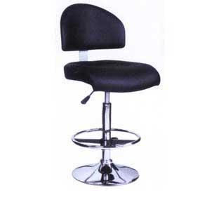 Ghế bar quay tròn 360 độ màu đen