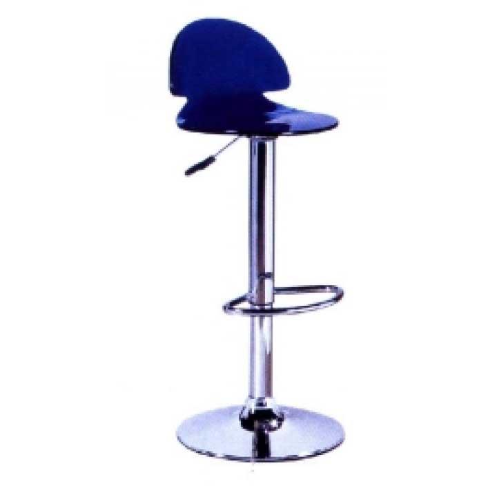 Ghế bar xanh dương đen
