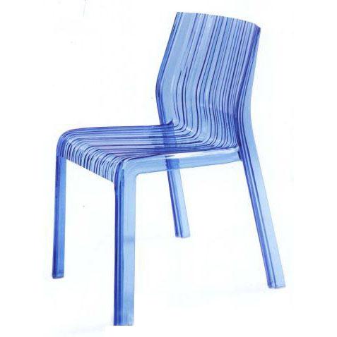 Ghế cafe tựa màu xanh biển