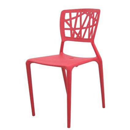 Ghế cafe tựa màu đỏ cao cấp