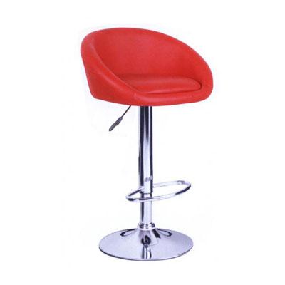 Ghế bar màu đỏ simily inox