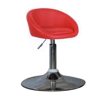 Ghế bar màu đỏ inox