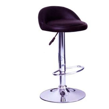 Ghế bar inox đen dày