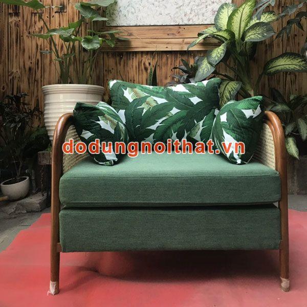 Ghế heatherfied đơn xanh lá