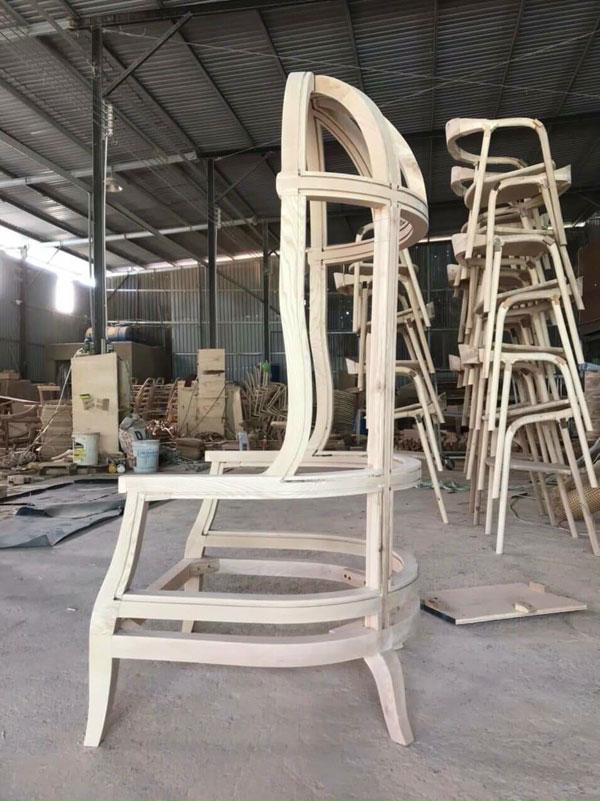 xưởng sản xuất ghế lồng chim