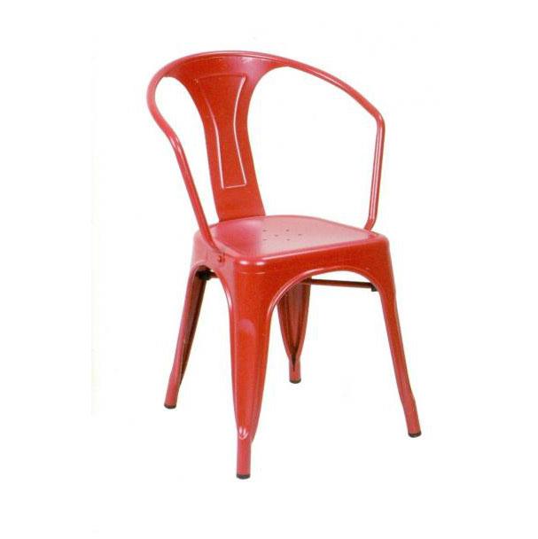 Mua ghế bar sắt màu đỏ