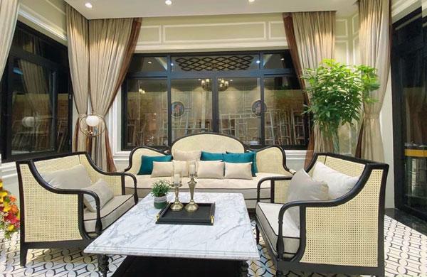 Bộ ghế sofa mariott sang trọng resort