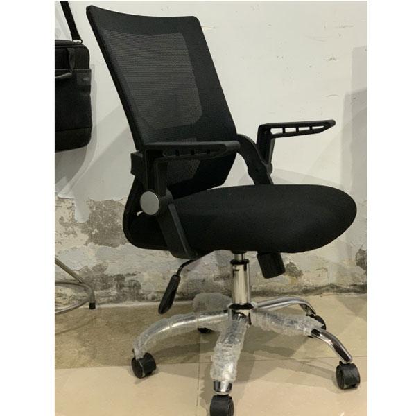 ghế ngồi văn phòng màu đen êm ái