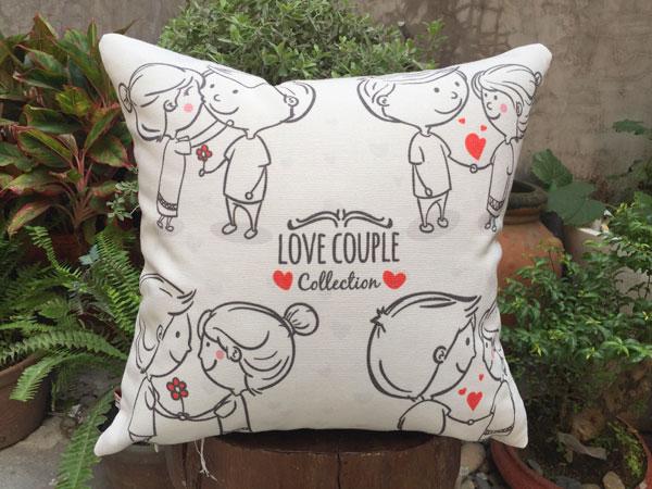 Gối sofa couple