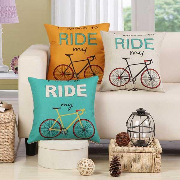 Bộ gối tựa lưng xe đạp