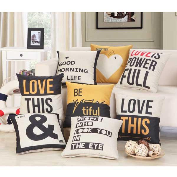 Gối tựa lưng sofa tình yêu