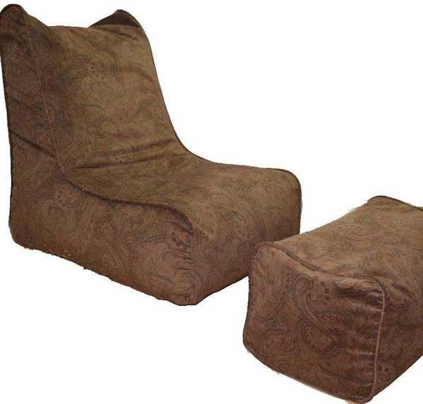 Ghế lười có gác chân