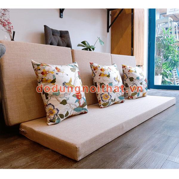 may bộ nệm cho ghế gỗ đẹp
