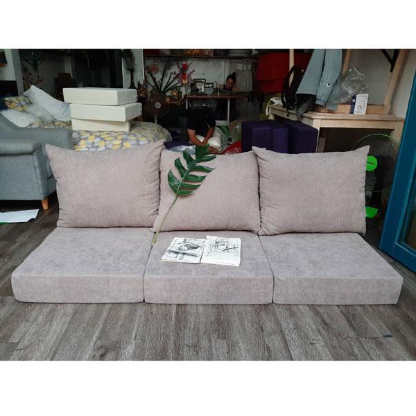 làm nệm sofa màu tro