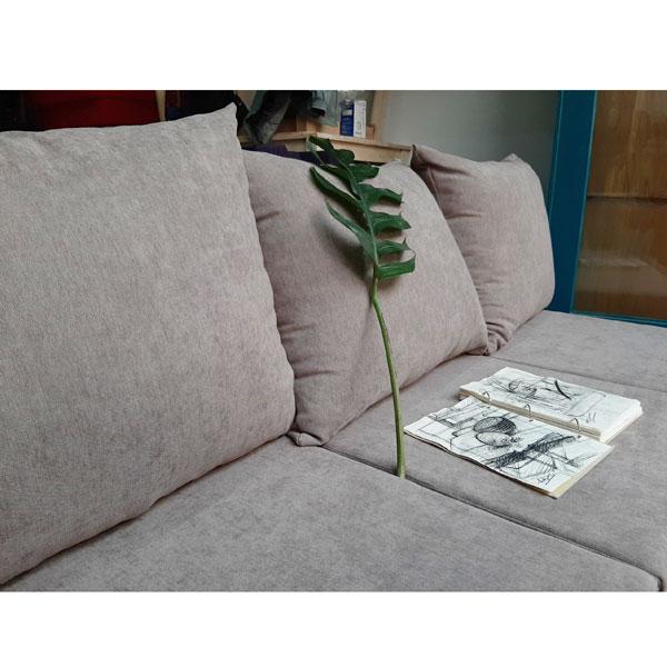 làm nệm sofa màu xám