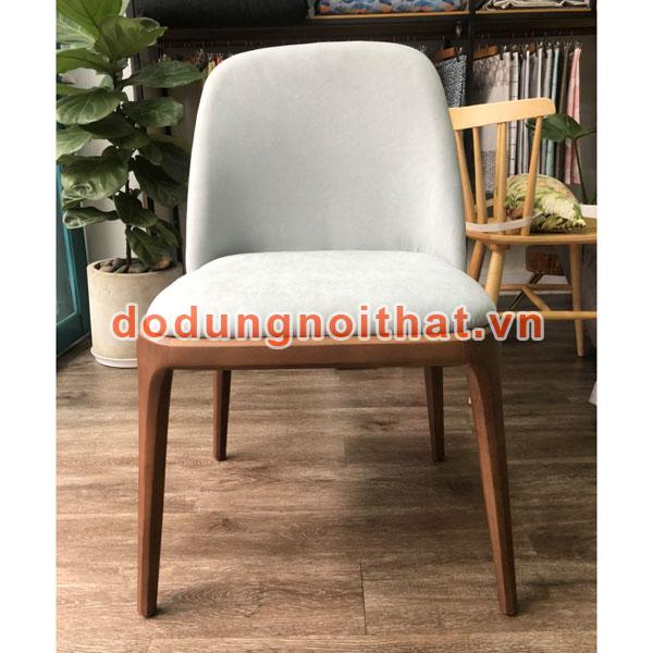 bàn ghế cafe màu trắng chất liệu gỗ