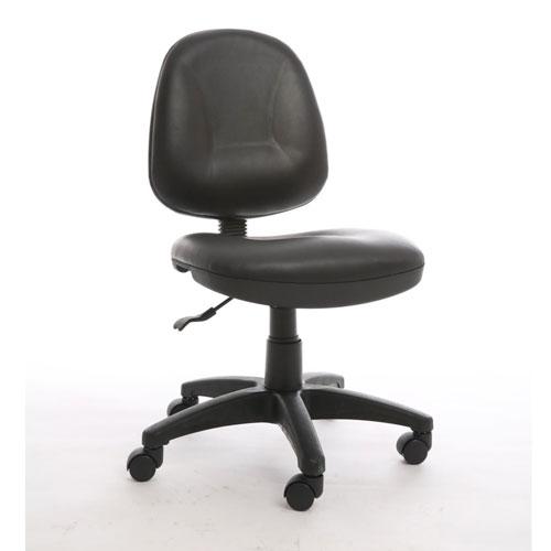 ghế văn phòng bánh xe xoay không tay vịn