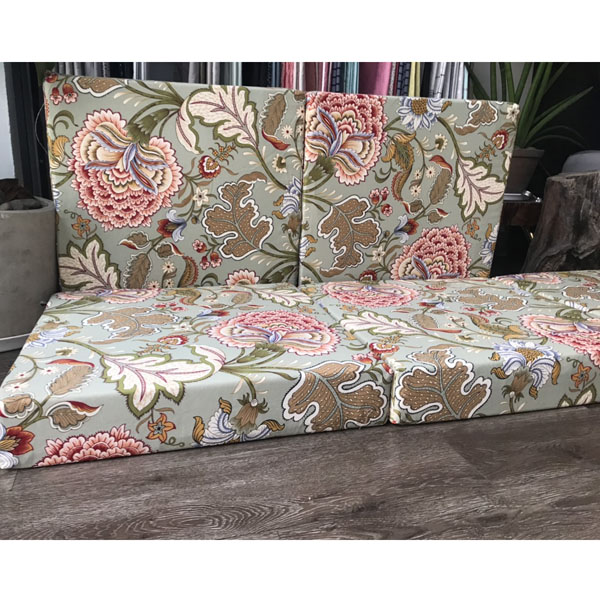 bộ nệm cho ghế gỗ phòng khách