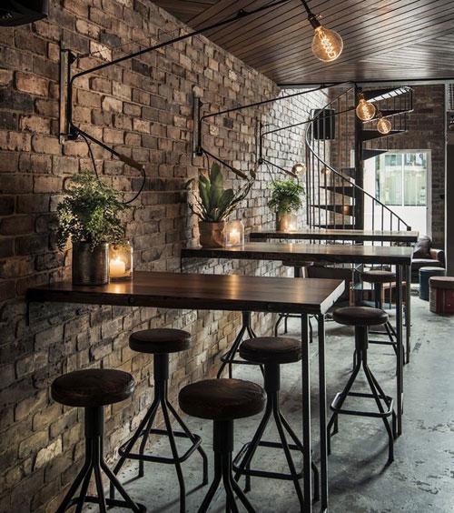 Thiết kế quán trà sữa theo phong cách cổ điển