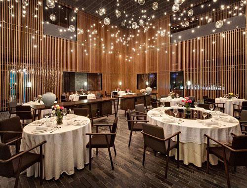 Bộ bàn ghế cho không gian nhà hàng