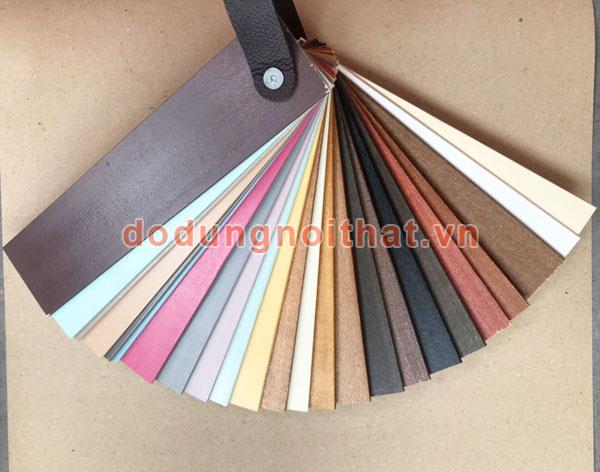 bảng màu sắc màn sáo gỗ