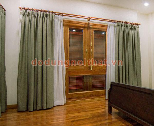 lắp rèm vải cho khách hàng quận 3
