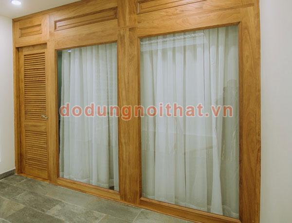 lắp đặt màn cửa vải cho khách tại hcm
