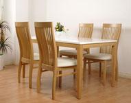 Tại sao nên chọn bàn ghế phòng ăn chất liệu gỗ