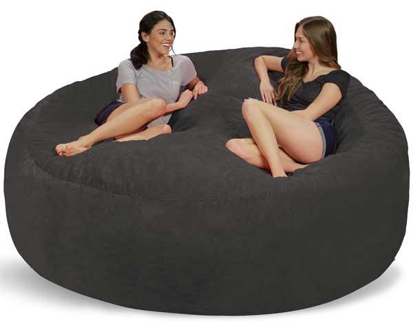Giường hạt xốp hình tròn