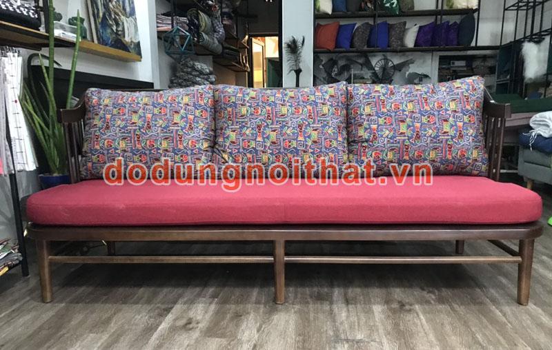bộ bàn ghế quán cafe băng sofa ba chỗ ngồi