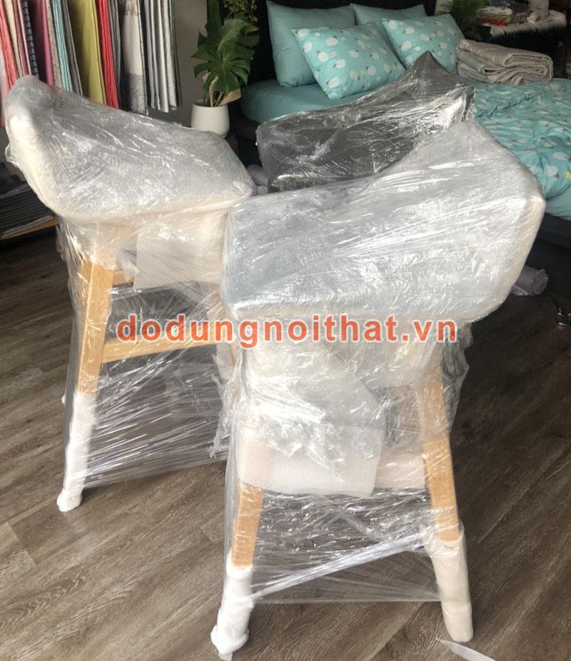 xưởng sản xuất ghế quầy bar chân gỗ cao cấp
