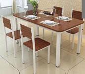 Vì sao bàn ghế làm từ gỗ công nghiệp được ưa chuộng trên thị trường